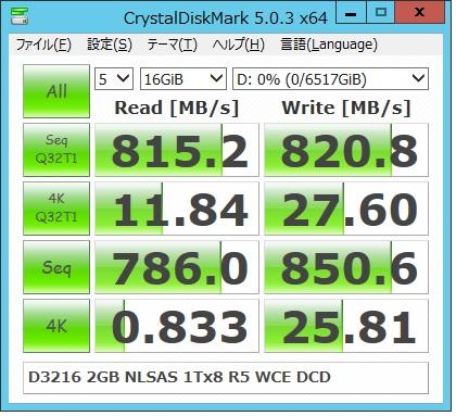 D3216 2G NLSAS1Tx8R5WCE 16G