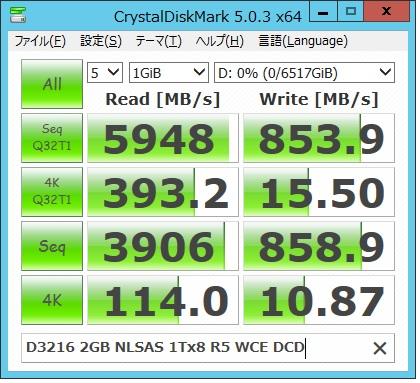 D3216 2G NLSAS1Tx8R5WCE