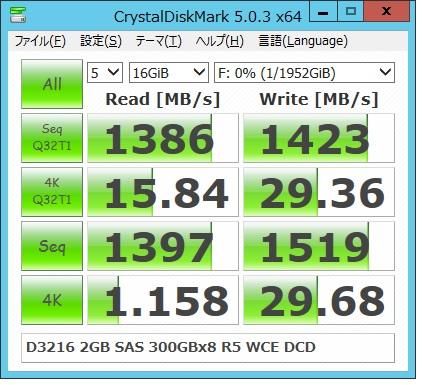 D3216 2G SAS300x8R5WCE 16G