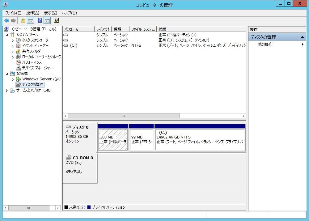DELL PowerEdge R230 にWindowsServerをインストール